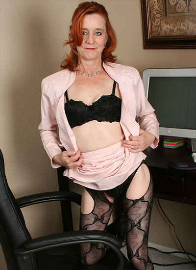 maggie shows her lingerie and much more