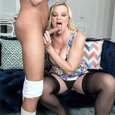 Horny Mature Lena Wants It In Her MILF Ass